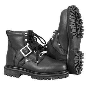 RIVER ROAD WOMENS CROSSROADS BUCKLE BOOT (8) (BLACK