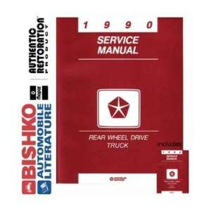 1990 DODGE RAM PICKUP TRUCK Shop Service Manual CD