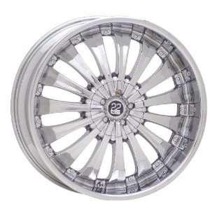 TIS TIS0824138A TIS08 CHROME Wheel Rim 24 10x6 6x139.7