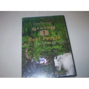 Best Hunts DVD   Real People Once in a Lifetime Hunts
