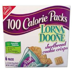 Nabisco 100 Calorie Packs Lorna Doone Grocery & Gourmet Food