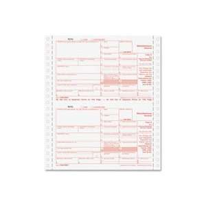 Quality Product By Tops Business Forms   1099 Misc Forms