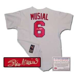 Stan Musial St Louis Cardinals MLB Hand Signed Authentic