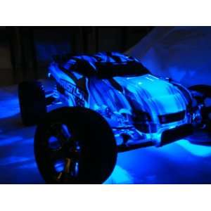 BLUE LED Light kit for RC cars. Toys & Games