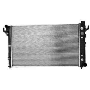 TYC 1552 Dodge Ram Pickup 1 Row Plastic Aluminum Replacement Radiator