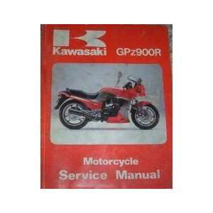 Kawasaki GPz900R Motorcycle Service Manual Ltd Kawasaki
