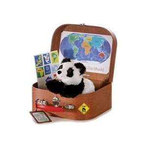 Aurora Plush 8 Travel Around the World Panda: Toys & Games