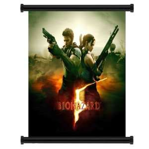 Resident Evil 5 Game Fabric Wall Scroll Poster (31 x 32