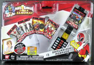 POWER RANGERS SAMURAI SAMURAIZER MORPHER V2 w/ NEW PHRASES, LIGHT