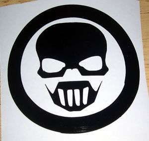 Ghost Recon Logo Decal 3 or 6 inch in Black or Chrome