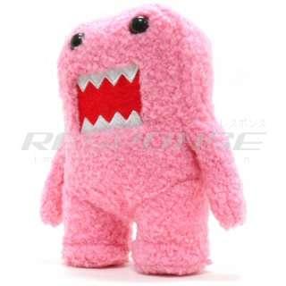 Domo Kun 6.5 Pink Plush Doll NHK TV Japan Mascot NEW