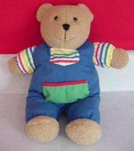 Eden Toys Teddy Bear Primary Colors For Baby Lovey Toys