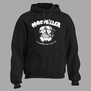 Mac Miller ~ Knock Knock ~ HOODED SWEATSHIRT rap hip hop t shirt tee