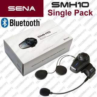 Sena SMH10 Bluetooth Intercom Motorcycle Helmet Clamp Kit  Wired Boom