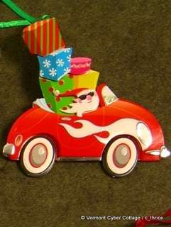 Handmade Holiday 3D Gift Tag SWEET TREATS Christmas Rudolph Reindeer