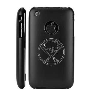 Apple iPhone 3G 3GS Black Aluminum Metal Case Buffalo