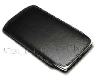 New Black PU leather Case Pouch Sleeve for Motorola XT910 Droid Razr