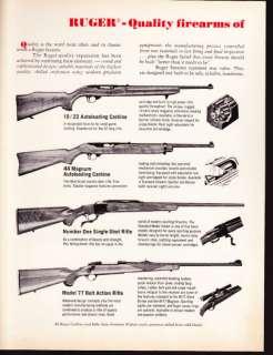 Sturm, Ruger AD   10/22, 44 Magnum, Number One, Mod 77