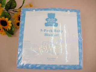 Carters Baby Boy Blankets set 5 pack