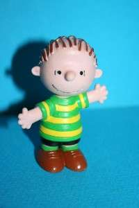 Peanuts SNOOPY LINUS pvc figure made in Portugal