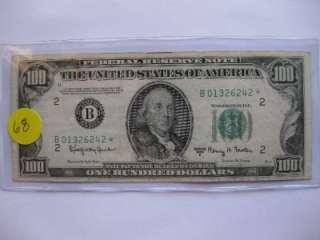 LOT #68   100 DOLLAR STAR NOTE 1950 E