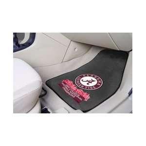 Alabama Crimson Tide Team Logo Auto Car Mats National