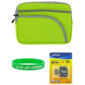 Neorpene Sleeve Case and 8 GB Micro SDHC Memord Card Electronics