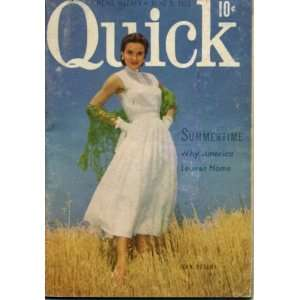 Quick News Weekly June 9, 1952 Eartha Kitt: Quick News Weekly: Books