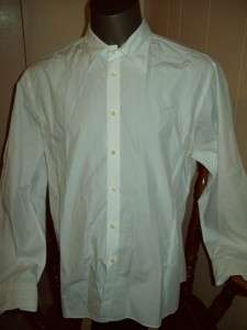 Zara Man White Dress Shirt sz XL