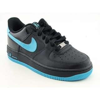 Nike Air Force 1 Youth Kids Boys SZ 7 Black/Chlorine Blue Basketball