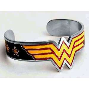 Officially Licensed Wonder Woman Red & Yellow Logo