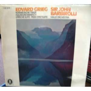 Gynt Suite: Edvard Grieg, Sir John Barbirolli, Halle Orchestra: Music