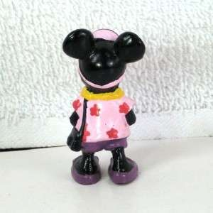 Cute MICKEY MOUSE and MINNIE MOUSE Mini PVC Figures