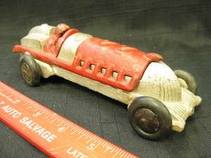 1930s HUBLEY RACER 22 Cast Iron Toy Car