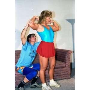 : Womens Wrestling   LSP PP12   Four Part Apartment House Wrestling