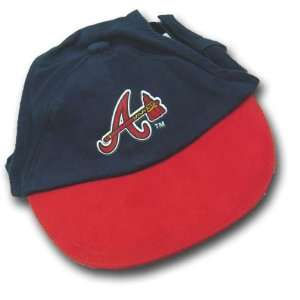 Atlanta Braves Dog Puppy Cap Hat Medium Large Officially Licensed MLB
