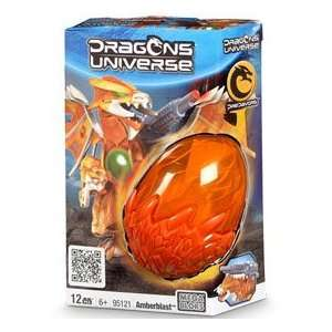 Dragons Universe Mega Bloks Set #95121 Amberblast Toys & Games