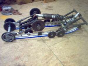 YAMAHA SRX 700 REAR SUSPENSION SKID 121 600 SX V MAX