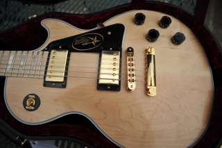 2011 GIBSON LES PAUL CUSTOM NATURAL VOS MAPLE FRETBOARD GOLD HARDWARE