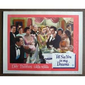 CT26 Ill See You DORIS DAY/DANNY THOMAS Lobby Card. Here
