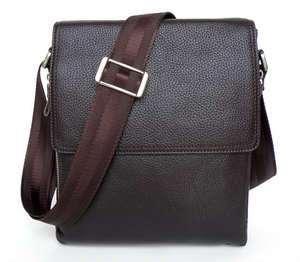 Leather Mens Business Shoulder Messenger Briefcase Bag Purse