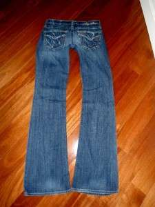 Buckle Big Star Casey K Low Rise Stretch Bootcut Jeans 29XLx34.5 Long