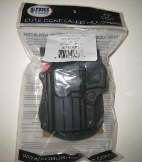 SPRINGFIELD XD HS2000 FOBUS LEFT LH ROTO PADDLE HOLSTER
