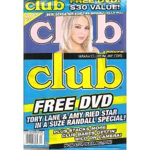 CLUB FEBRUARY 2008 ASHLYNN BROOKE: CLUB MAGAZINE: Books