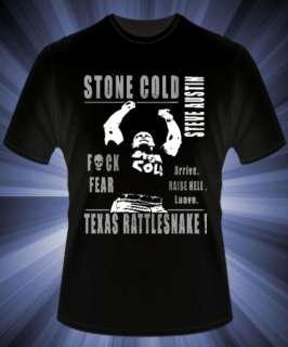 Stone Cold Steve Austin Wrestling T Shirt WWE