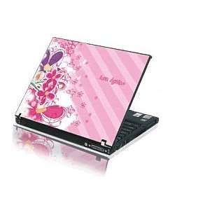 15.4 Laptop Notebook Skins Sticker Cover H264 Pink