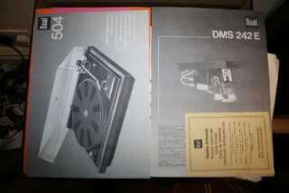 Dual 504 Great Belt Drive Turntable Made In Germany Boxed(Need Stylus