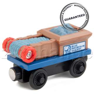 USA BLUE MOUNTAIN QUARRY ROCK CRUSHER CAR Thomas Wooden train engine