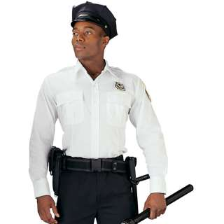 Genuine White Police & Security Issue Uniform Law Work Shirt