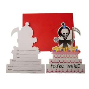 Grim Reaper Birthday Party Invitiation